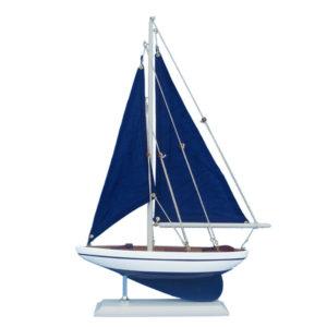 Blue sailboat – 17″